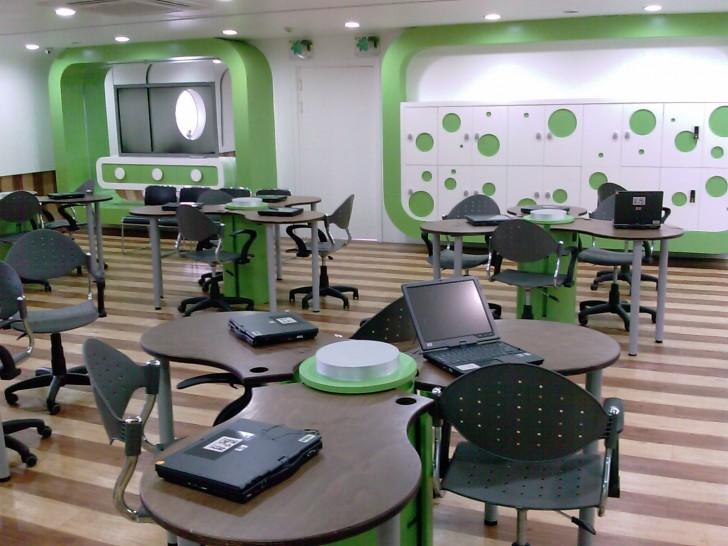 Modern Classroom Furniture ~ Ideal layouts for modern classrooms