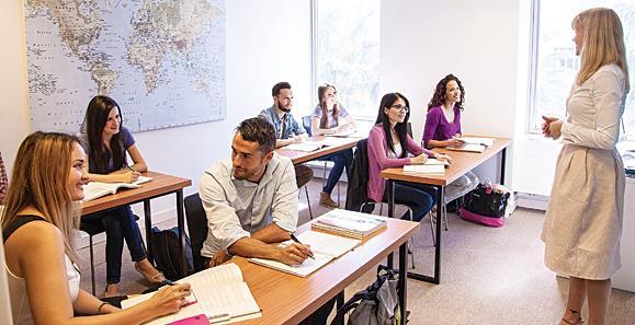 English Schools In USA
